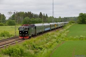 SJ Rc6 1401 med RST 10091 (Mellansel - Göteborg C) mellem Hallsberg og Pålsboda - 06.06.2012