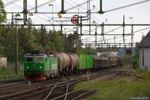 GC Rd2 1097 med GT 5368 (Nässjö - Hallsberg Rbg) ved Boxholm - 07.06.2012