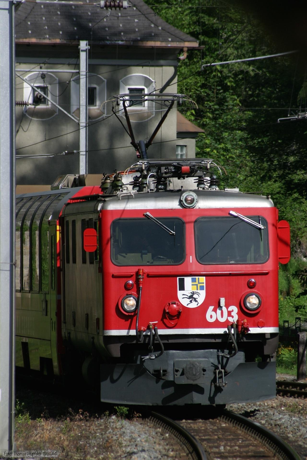 RhB Ge 4/4 I 603 - 23.06.2004