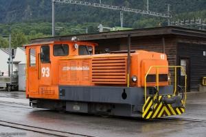 RhB Tm 2/2 93 ved Untervaz-Trimmis - 13.08.2014
