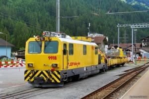 RhB Xmf 4/4 9918 ved Küblis - 14.08.2014