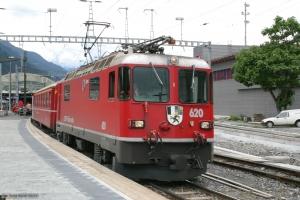 RhB Ge 4/4 II 620 ved Chur - 22.06.2004