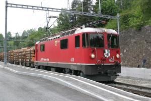RhB Ge 4/4 II 625 ved Filisur - 23.06.2004