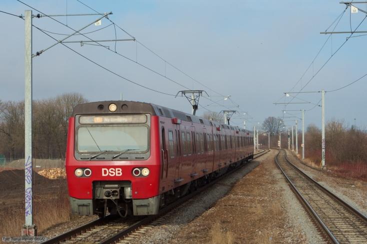 DSB MC/FC (3. Generation S-Tog - ASEA) ved Ryparken station - 27.03.2006