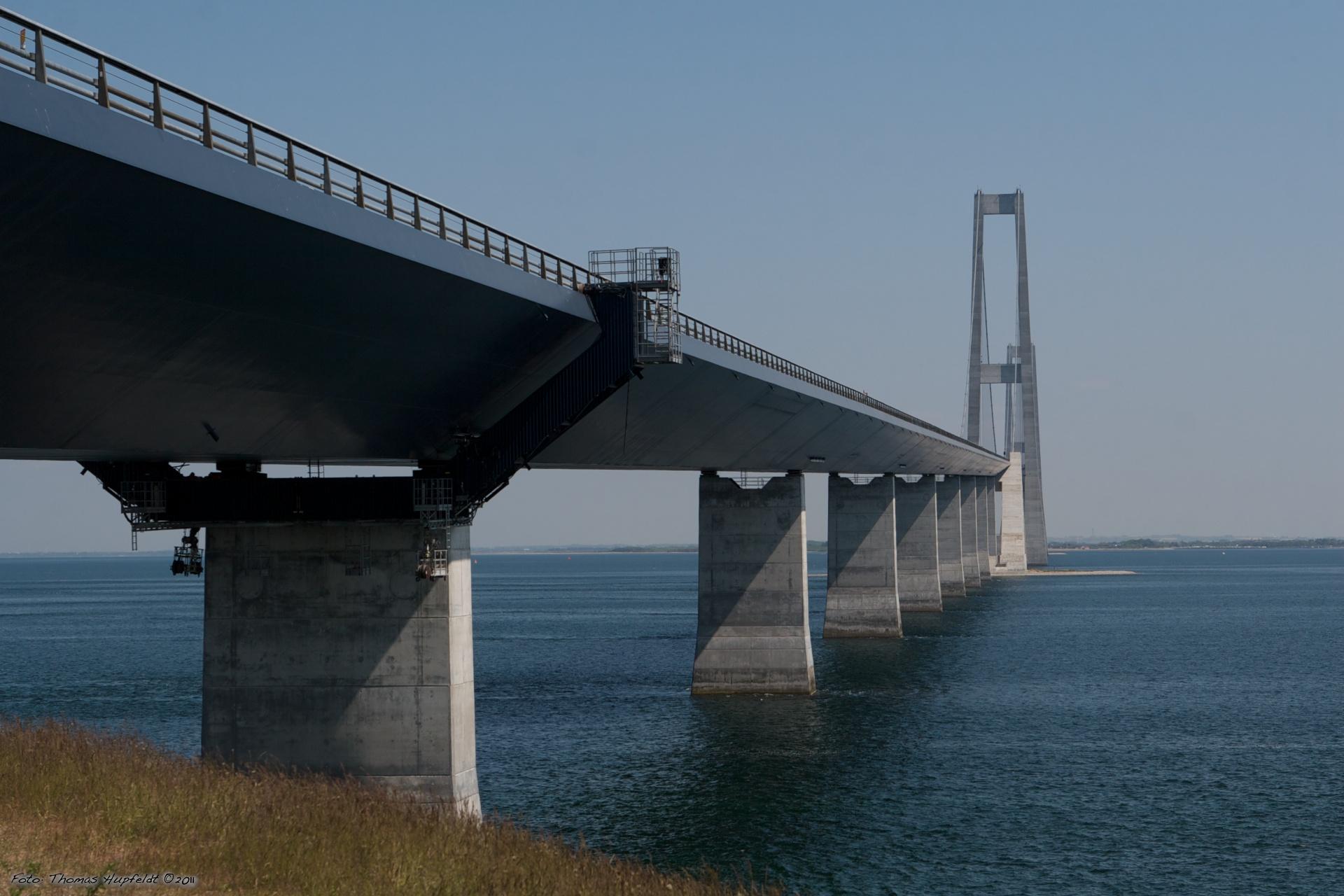 Østbroen set fra Sprogø