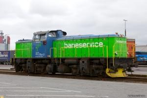 Baneservice T43 252 ved Göteborg Kombiterminal - 04.06.2012