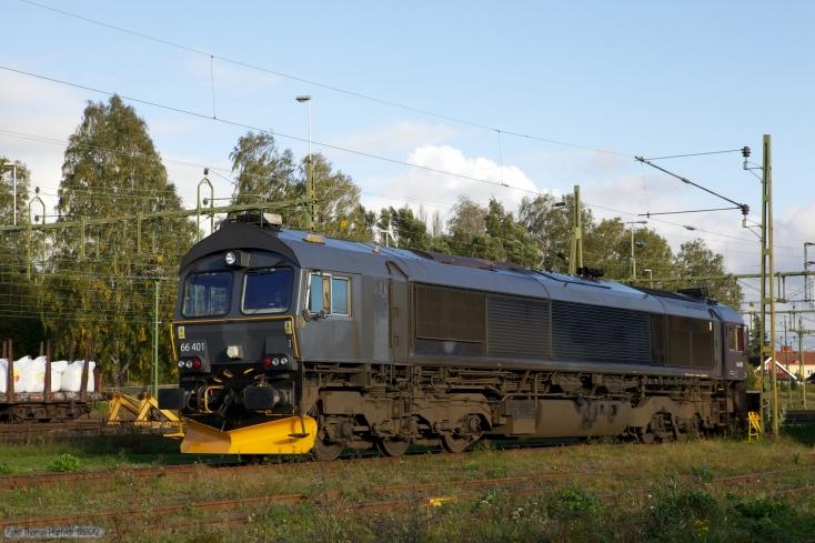 BRLL T66 401 ved Kristinehamn - 14.09.2010