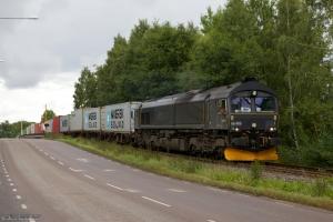 BRLL T66 406 med GT 43806 ved Norrköping - 30.08.2011