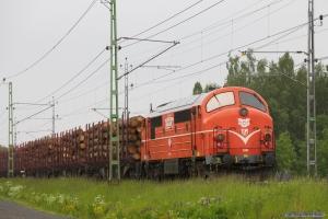 TÅGKRAFT TMX 1031 bag på Hector Rail GT34519 mellem Hallsberg - Stockaryd - 08.06.2012
