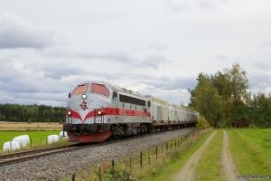 TÅGAB TMY 103 + Vogne + TÅGAB TMZ som GT8241 (Kongsvinger-Elverum) ved Kongsvinger - 16.09.2010