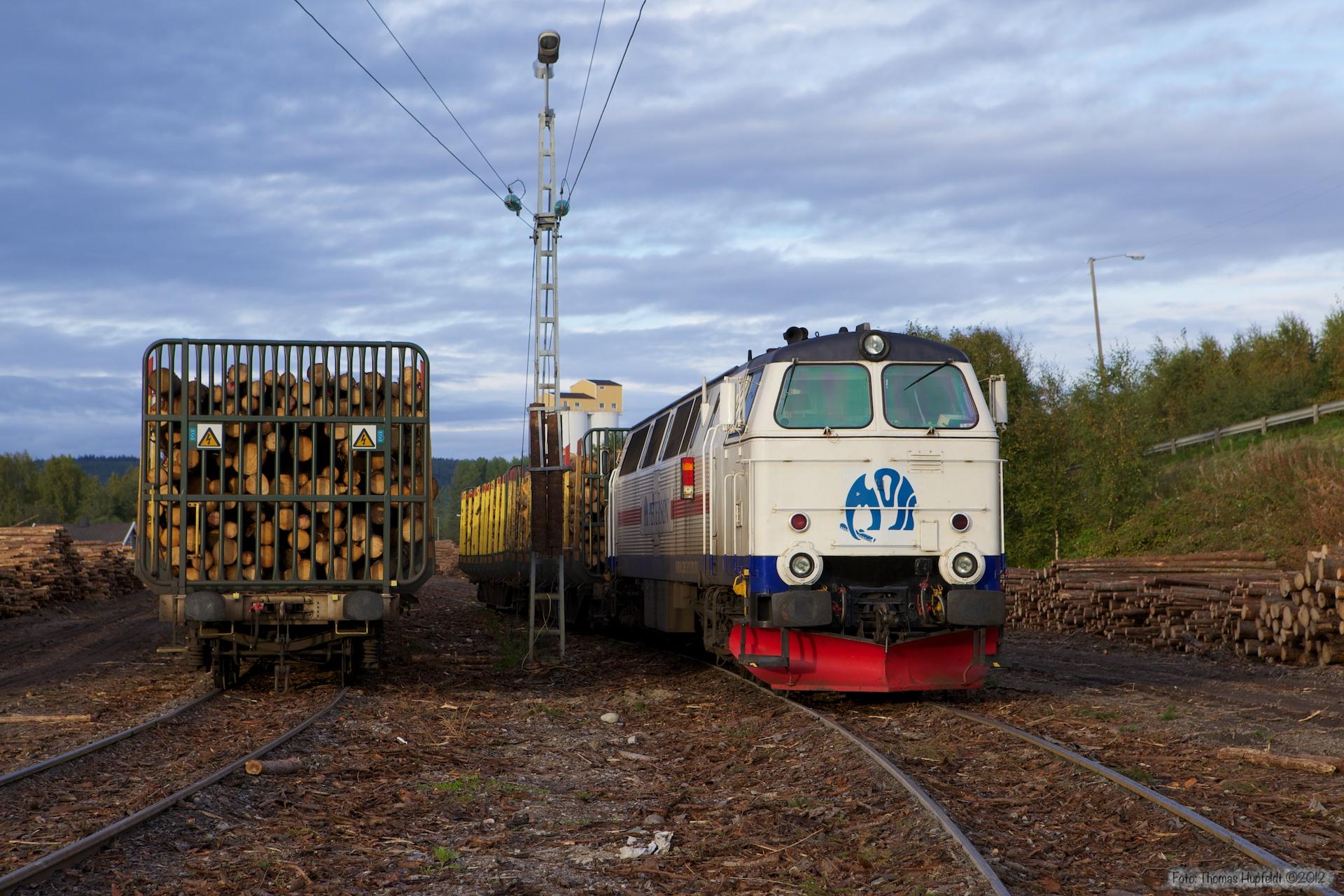 PRAB TMZ 1409 ved Kongsvinger - 16.09.2010