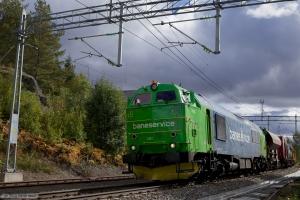 Baneservice TMZ 1461 ved Skotterud - 17.09.2010