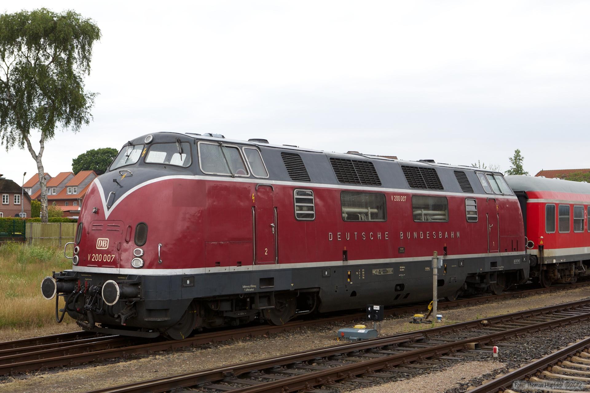 V 200 007 i Niebüll - 29.07.2012