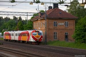 OT X14 3233 som RST8787 (Norrköping-Tranås) ved Boxholm - 07.06.2012