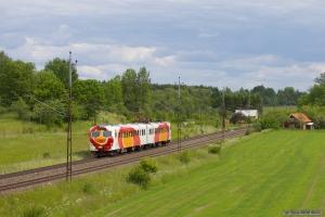 OT X14 3234 som RST8732 (Mjölby-Norrköping) mellem Linghem og Gistad - 07.06.2012