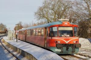 MjbaD Ys 44 + Ym 33 som VP226302 (Ar-Mal) ved Tranbjerg - 02.12.2012
