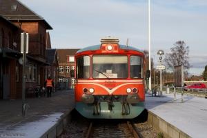 MjbaD Ys 44 + Ym 33 ved Odder Station - 02.12.2012